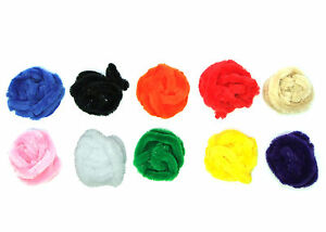 2m x W Choic... 10mm Chenille Pipe Cleaner Braids with a Flexible Yarn Core L