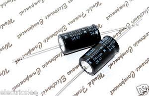 Siemens 1000uf 40v Axial Elko Electrolytic Capacitor Kondensator Germany 1pcs