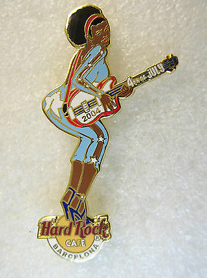 BARCELONA,Hard Rock Cafe Pin,Sexy 4th of July Girl