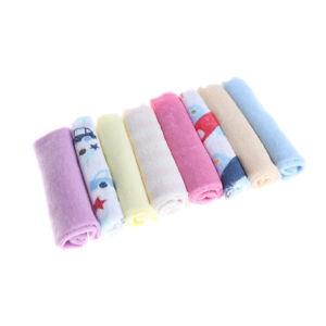 8pcs-Pack-New-Face-Washers-Hand-Towel-Cotton-Feeding-Wipe-Wash-Cloth-VJ-lcJCAU