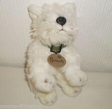 Harrods West Highland White Westie Terrier Dog Puppy Soft Toy Beanie Collectable
