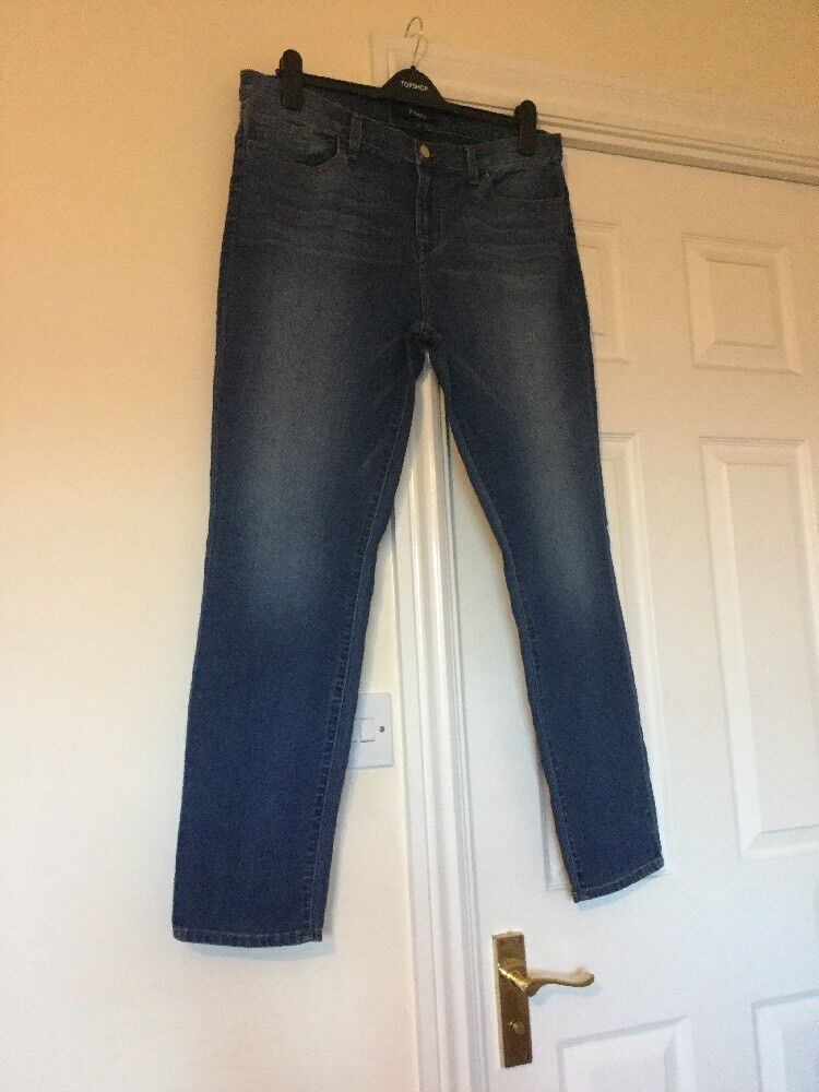 JBRAND Mid Rise Skinny Jeans Mendocino Wash Size 32