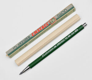 VINTAGE-A-W-FABER-CASTELL-TK-9400-4B-3-15MM-DRAFTING-MECHANICAL-PENCIL-50S