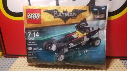 New Fast S//H LEGO The Batman Movie 30521 The Mini Batmobile Polybag