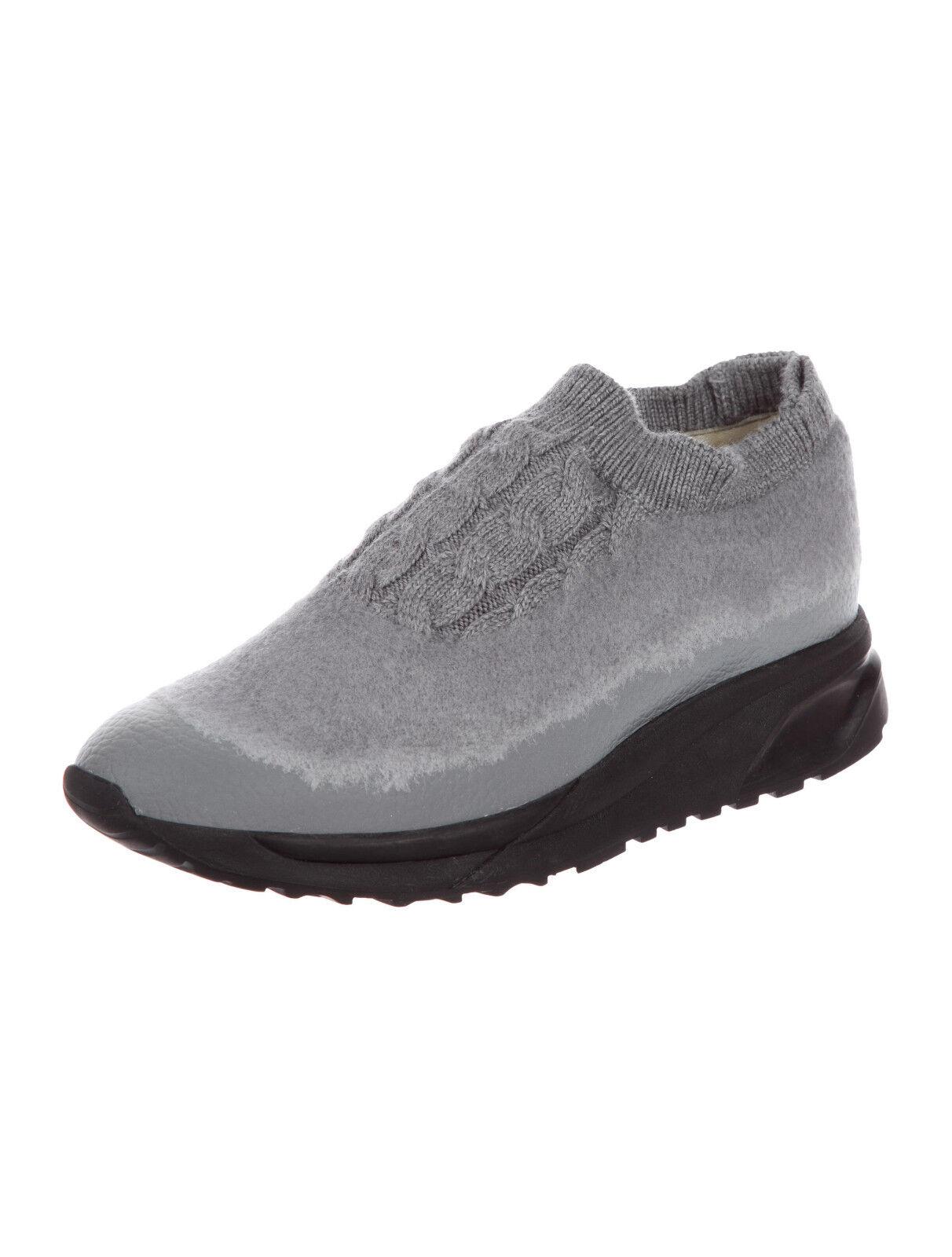 Maison Margiela Woven Slip-On Sneakers