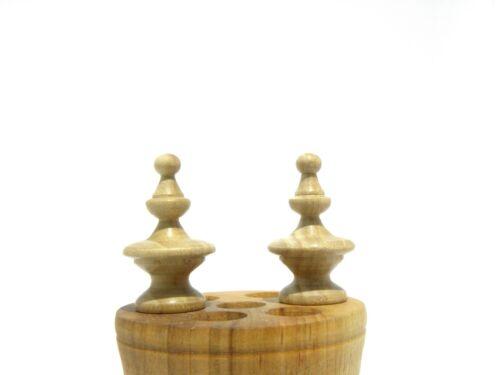 Wooden Finials 4 item