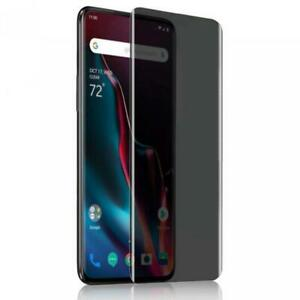 ONEPLUS 7 PRO - PRIVACY SCREEN PROTECTOR TEMPERED GLASS ANTI-PEEP FULL COVER 3D