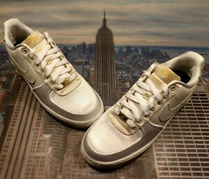 badc3c76402af4 Nike iD Air Force 1 Low x Nigel Sylvester White Cream Size 8.5 ...