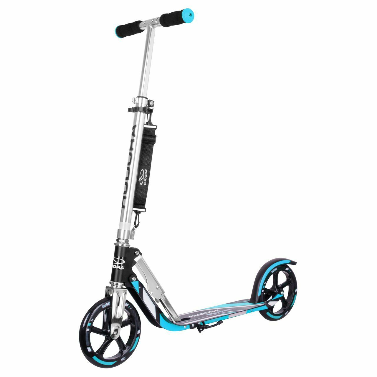 HUDORA Scooter Roller Big Wheel RX-Pro 205 schwarz-blau