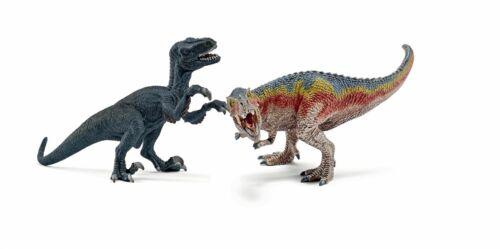pequeño 42216 Nuevo Schleich T-Rex y Velociraptor