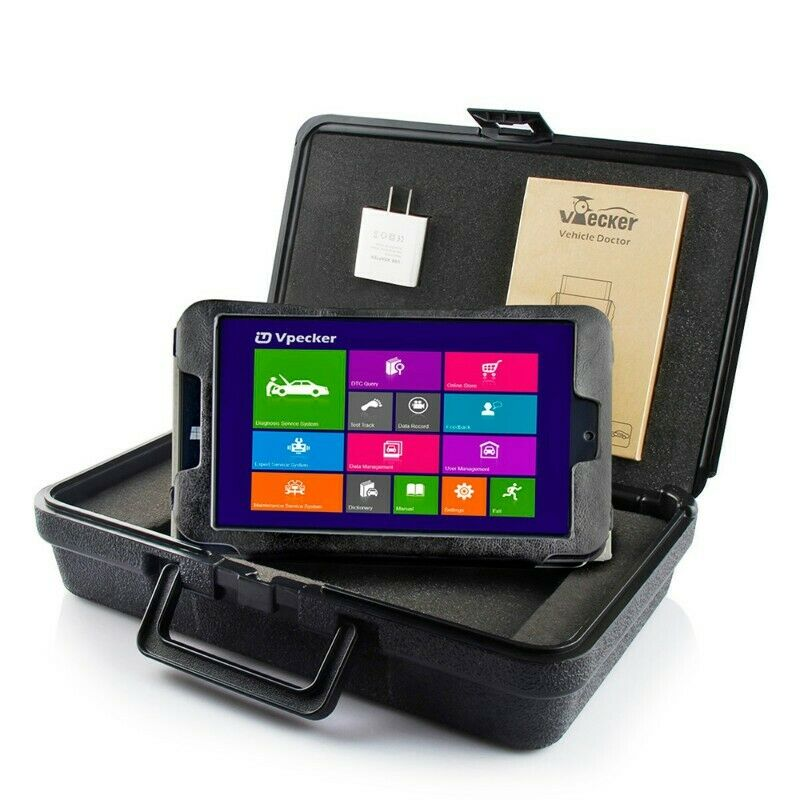 VPECKER Vehicle Doctor Easydiag Wireless WIFI OBDII Tool + Windows 10.1 Tablet 8 inch , R5999