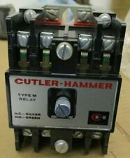 CUTLER HAMMER TYPE M RELAY D23MB CONTACTOR 300V AC @ 10A  NEW IN STYROFOAM BOX