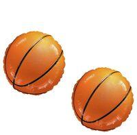Basketball Sports Ball Championship Nba Game (2) 18 Party Mylar Balloons