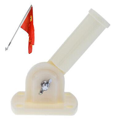 180 ° Drehbare Kunststoff Fahnenmast Halterung Windsack Basis mit Schrauben