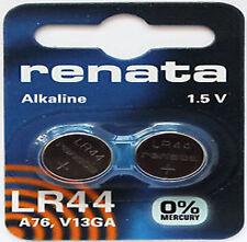 renata LR44 V13GA, A76, 82, LR1154, 357A battery LR 44 (2 Pcs)