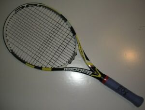 2012-US-Open-Sam-Querrey-Match-Practice-Used-Black-Babolat-Signed-Tennis-Racquet