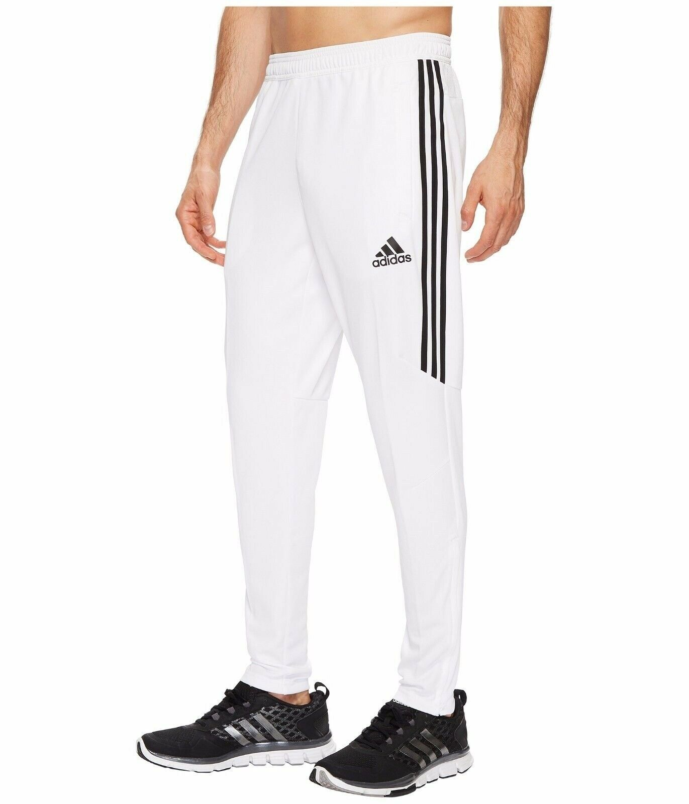 [CF3606] Mens Adidas Tiro 17 Training Pants WhiteBlack Tapered Slim Fit Tiro17