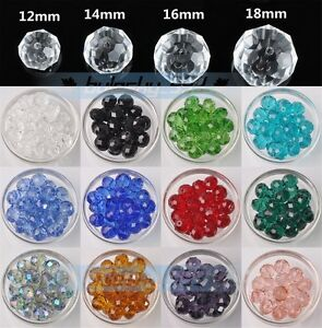 Wholesale-Big-Crystal-Glass-Rondelle-Faceted-Loose-Spacer-Beads-12-14-16-18mm