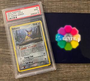 2006 Pokemon EX Legend Maker Delcatty Holo PSA Mint 9