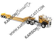 Cat Caterpillar Ct660 W/ XL 120 HDG Lowboy Trailer 1/50 Diecast Masters 85503 C