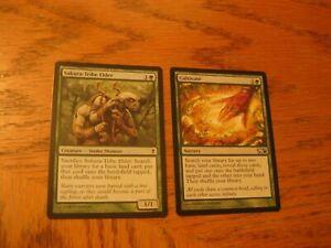 Green-Ramp-EDH-Commander-Lot-NM-LP-Cultivate-Sakura-Tribe-Elder-Magic