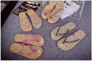 Womens-Summer-Fabric-Flip-Flops-Multi-Color-Beach-Sandals-Women-039-s-Shoes