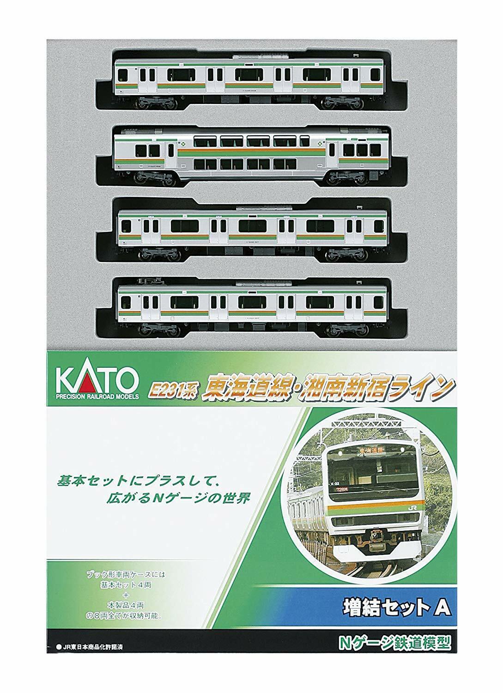 Kato 10595 Jr Serie E231 Tokaido ShonanShinjuku Linea 4 Auto AddOn N Scala