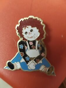 Vintage Raggedy Ann Pin