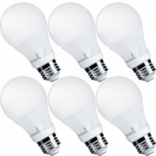 Hyperikon A19 Dimmable LED Light Bulb, 9W (60 Watts Equivalent), Energy Star,
