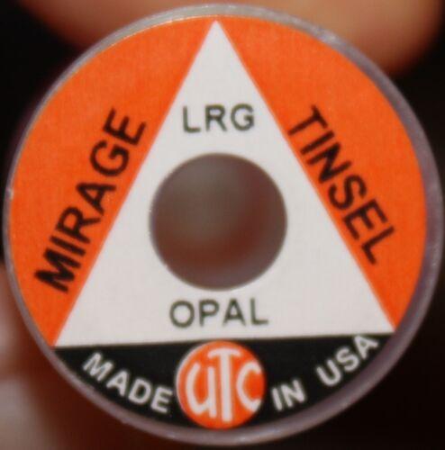 Fly Tying UTC Mirage Opal Tinsel 3 widths M3