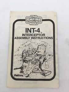 Star-Wars-Vintage-INT-4-Palitoy-Instructions-Empire-Strikes-Back