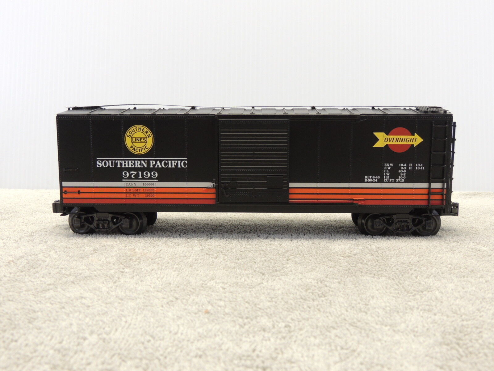 K-Line K761-20343 Southern Pacific Overnight Boxcar