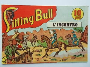 l'incontroalbo saturniasitting bull51949fumetti western Marijac Dut razzo