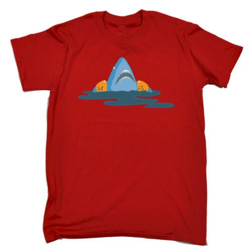 SQUALO Mascelle Bracciali T-shirt immersioni mare vela nuoto Tee Regalo Di Compleanno Divertente