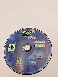 Sony-PlayStation-1-PS1-Disc-Only-Tested-Capcom-vs-SNK-Pro-Ships-Fast