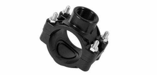 "Anbohrschelle for Tiles 40-50mm 1//2/"" 3//4/"" 1/"" PE Tube Profile-Quality Connectors"