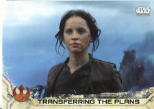 Star Wars Rogue One Mission Briefing Green Base Card #78 The Rebellion is Victo