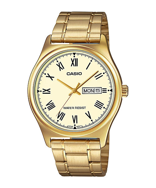 cf1730559e1 Casio Quartz Analog Stainless Strap Mens Casual Watch Mtp-v006g-9b Mtpv006g  for sale online