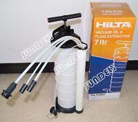Secuda 7l Pneumatic Oil Suction Fluid Extractor Transfer Vacuum Pump Manual
