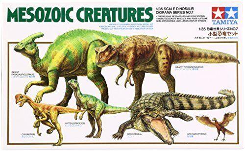 Tamiya Mesozoic Creatures  (60107) Dinosaur Plastic Kit