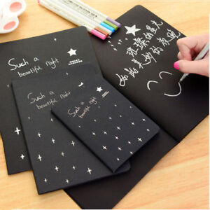 56K-Paper-Graffiti-Notebook-Sketch-Book-Diary-For-Painting-Notepad-Drawing-US-IL