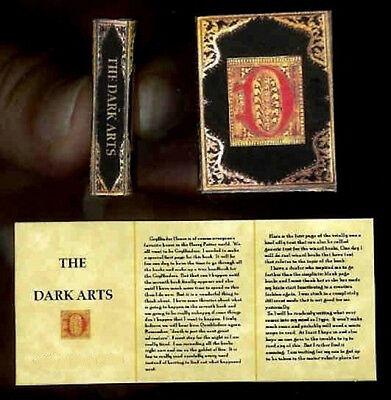 Dollhouse Halloween Magic Book The Phoenix Artist Crafted Miniature
