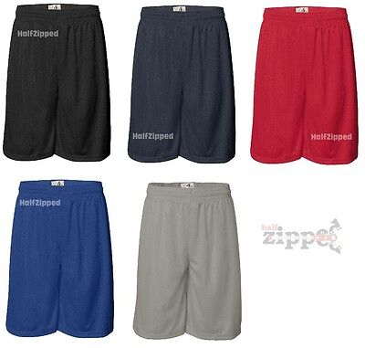 Badger 11'' Inseam Pro Mesh Shorts 7211 S-5XL Polyester w/ liner Basketball