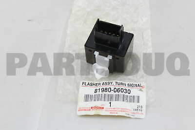 8198032010 Genuine Toyota FLASHER ASSY TURN SIGNAL 81980-32010