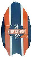Planche De Skimboard Surf Riders, Planche De Skim Board En Bois Neuf