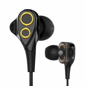 In-Ear-Cuffie-Dynamic-Stereo-Auricolari-Headset-Headphones-per-Huawei-Cellulari