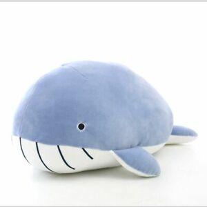 45cm Giant Shark Plush Shark Whale Stuffed Fish Ocean Animals Doll Toys EL