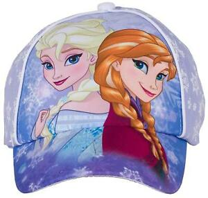 Disney-Frozen-Princess-Anna-amp-Elsa-Baseball-Cap-Hat-for-Girls-Purple-Summer-HOT
