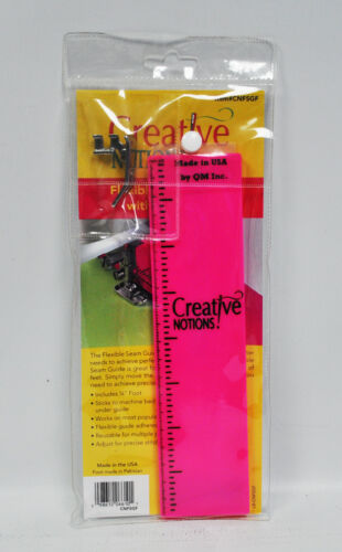 Creative Notions Flexible Seam Guide Fuschsia with 14 Inch Foot