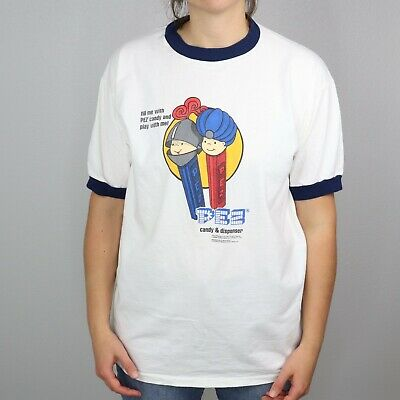 Attivo Vintage 90s Pez Adulti Grande T-shirt Dispenser Fill Me Con Caramella Play